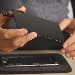 Não perca tempo, faça seu orçamento troca de display de Iphone