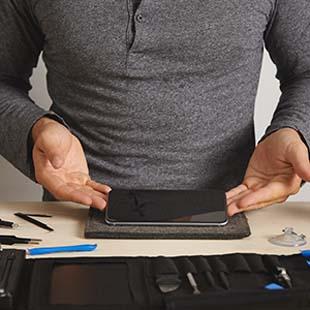 Assistência técnica para orçamento troca de touch do Iphone