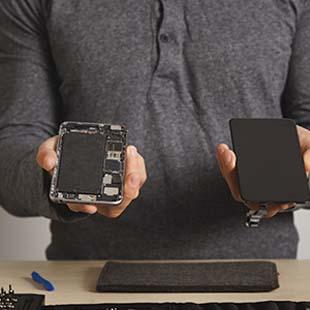 Onde fazer orçamento troca de vidro Iphone