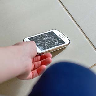Onde solicitar reparo celular Samsung
